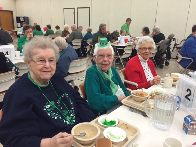 LC Dining Site St Patricks Day