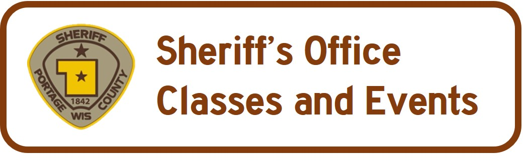 Sheriff's Classes and Events