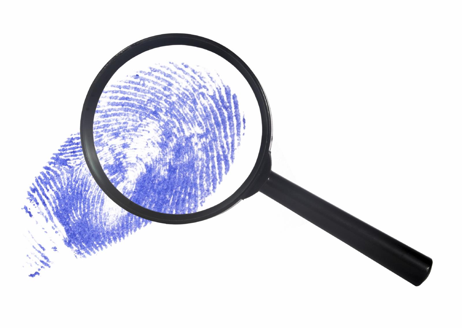 Magnifying Glass and Print