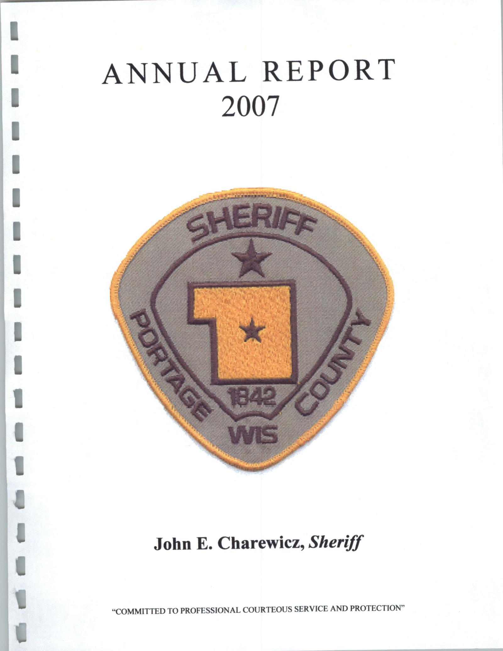 Annual Report 2007 Cover