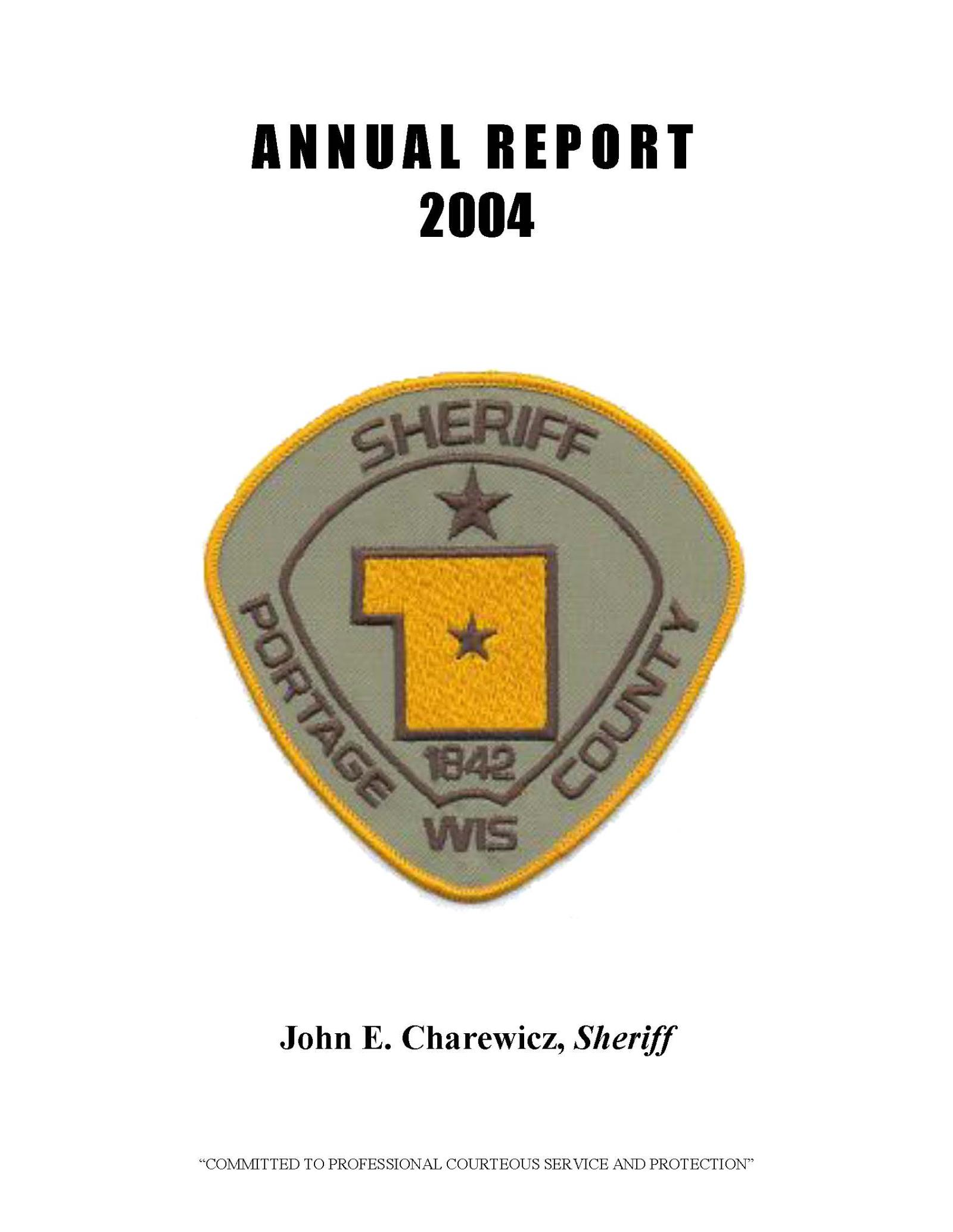Annual Report 2004 Cover
