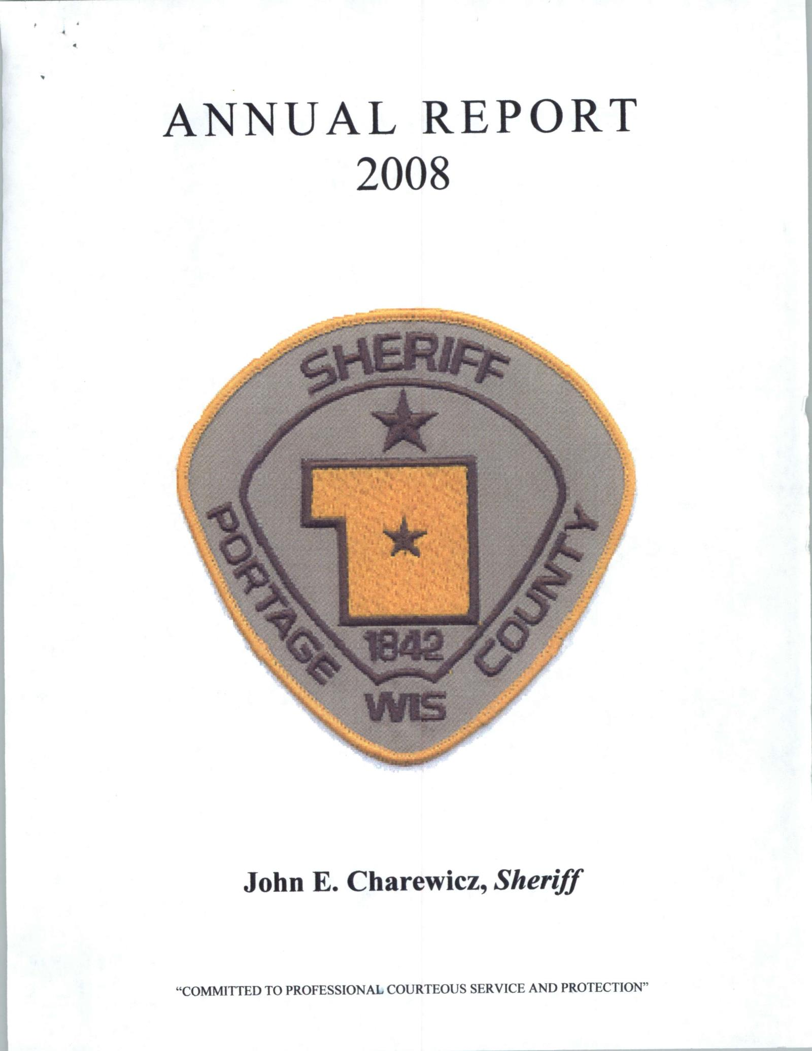 Annual Report 2008 Cover