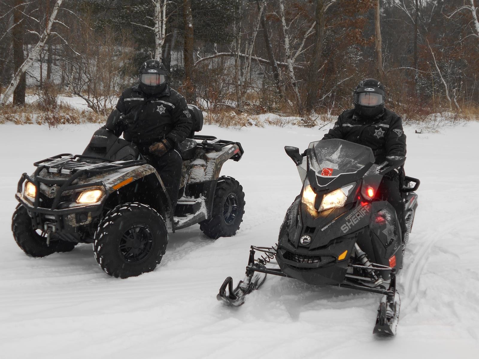 Snowmobile and ATV